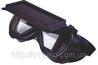Очки сварочные с прямоугольным стеклом