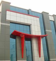 Алюминиевая композитная панель 1,25*5,8 (7,25 м2) 3 мм в ассортименте, фото 1