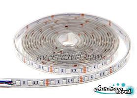 Світлодіодна стрічка SMD 5050 (60 LED/m) RGB IP68 Premium. LED стрічка. Стрічка світлодіодна.