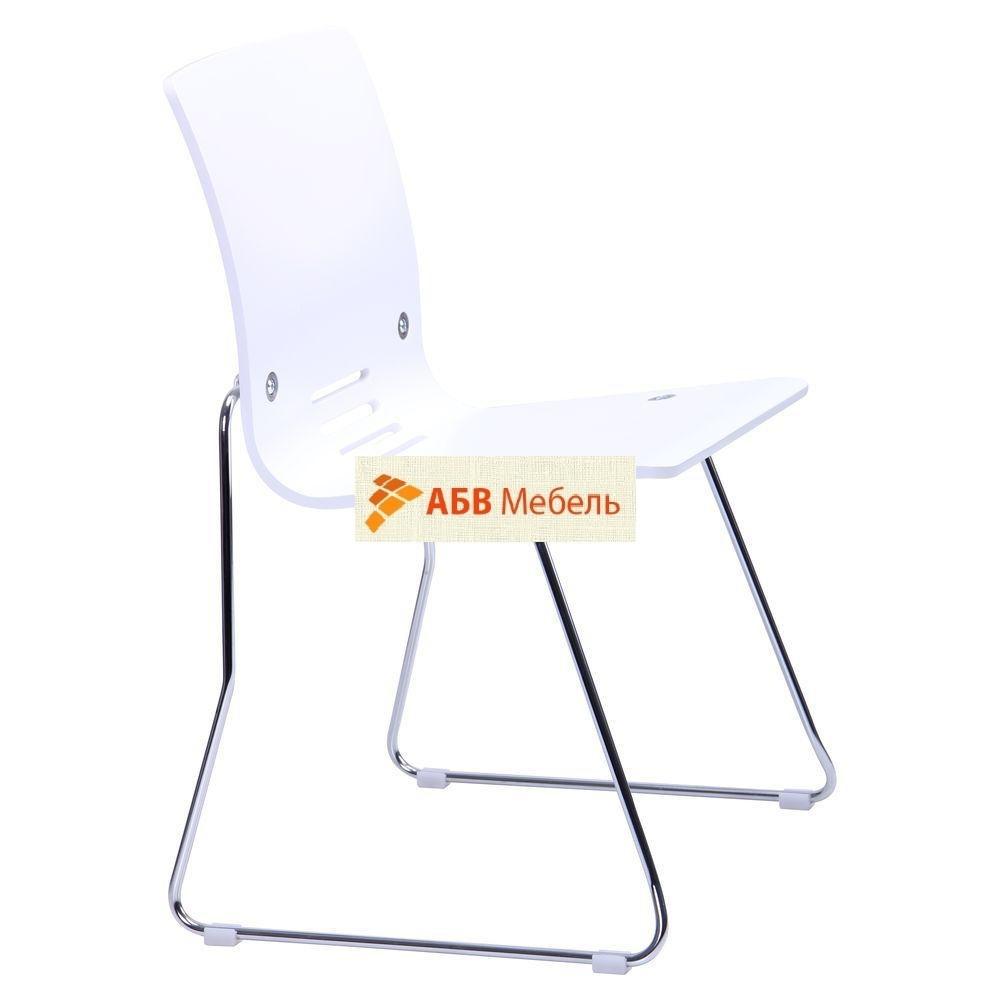 Стул Мальта Хром Белый (AMF-ТМ) - АБВ мебель в Днепре