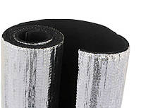 Листовая теплоизоляция. Алюфом R. Каучук с покрытием из алюминиевой фольги, 50*** мм