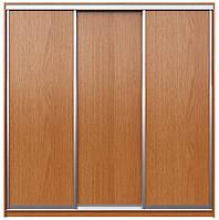 Двери Купе. Ручка АА119. Габариты 2100(Ш) х 2200(В) 3 двери ДСП, фото 1