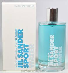 Женская туалетная вода Jil Sander Sport Water (освежающий цветочно-водяной аромат)
