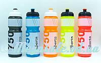 Бутылка для воды спортивная I Love Sport 5960: 5 цветов, объем 750мл
