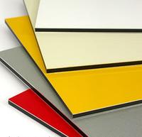 Композитная панель  Aluten 1,25*5,8 3 мм Желтая