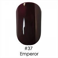 Гель лак для ногтей Naomi №037 шоколадно-вишневый, эмаль , 6 мл