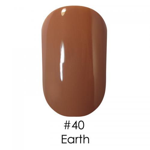 Гель лак для ногтей Naomi №040 оранжево-коричневый, 6 мл