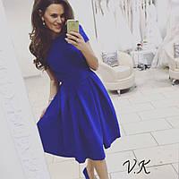 Женское трикотажное платье с карманами 0134