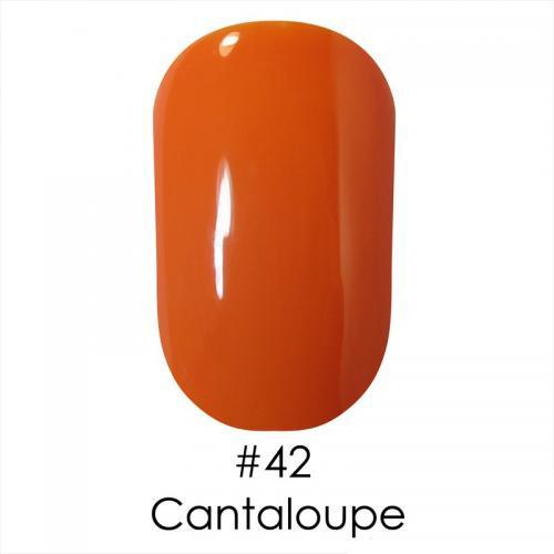 Гель лак для ногтей Naomi №042 пастельно-оранжевый, эмаль, 6 мл