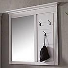 Вешалка с зеркалом в прихожую из массива дерева 013, фото 2