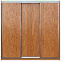 Фасады для самостоятельной сборки шкафа купе. Ручка А119. Габариты 2100(Ш) х 2500(В) 3 двери ДСП