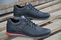 Мужские кожаные кроссовки Ecco  Biom 15 BLACK