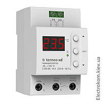Терморегулятор для систем охлаждения и вентиляции Terneo xd, -55...+125 С, 220-230 V AC