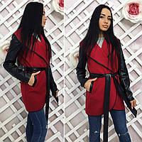 Женское кашемировое пальто 42-52 разные цвета