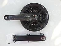 Шатун Shimano FC-M171  42-34-24 надежный