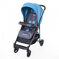 Детская прогулочная коляска CARRELLO Espresso CRL-1415 Blue