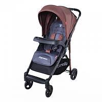 Стильная детская прогулочная коляска CARRELLO Espresso CRL-1415 BROWN