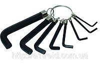 Набор ключей имбусовых 8 шт., (2-10мм)