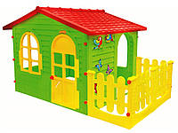 Детский игровой домик Mochtoys Garden House с террасой