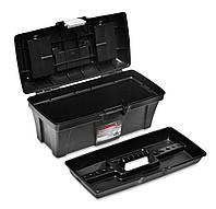 """Ящик для инструментов пластмассовый 15,5 """", металлическая застежками 390х185х170мм"""