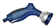 Пистолет-распылитель 7-позиционный металлический с фиксатором потока, Verano