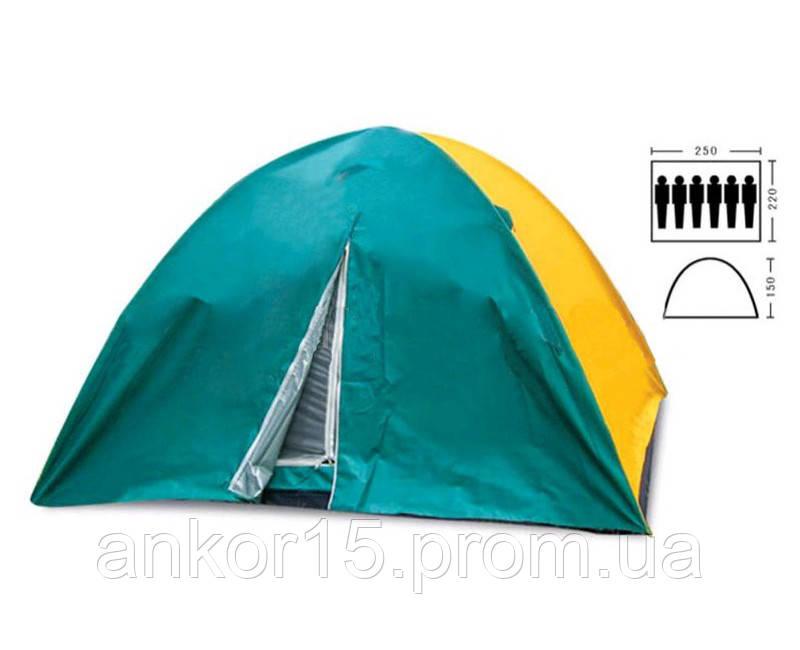 Палатка 6-и местная Zelart SY-021 с тентом, двухслойная.