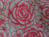 Фетр 142 принт Троянди 45х50 см товщина 1,4 мм