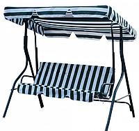 Подвесной диванчик садовый:170х115х157см