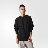 Джемпер для мужчин черный adidas XbyO BQ3082 - 2017