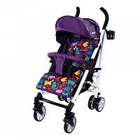 Коляска прогулочная CARRELLO Allegro CRL-10101 Kitty Purple, удобная коляска-трость