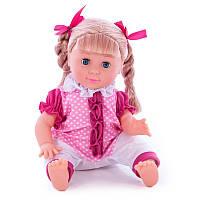 "Лялька інтеракт.""Лиза"" 1256 7фун.реаг.на.хлоп.сп"