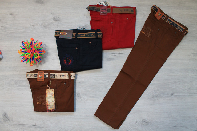 джинсовые брюки для мальчика style-baby.com