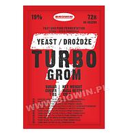 Спиртовые дрожжи  TURBO GROM 72ч - 120г