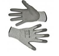Перчатки с защитой от порезов, матовый полимер, L-XL