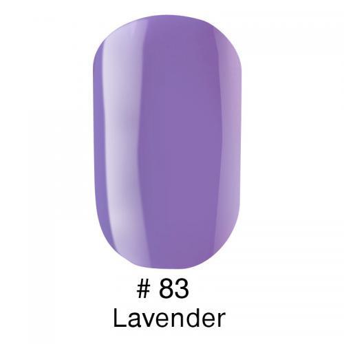 Гель лак для ногтей Naomi №083 лавандовый, эмаль, 6 мл