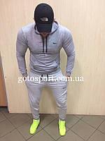 Весенний мужской спортивный костюм Nike серый