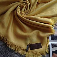 Женский шарф синий палантин Louis Vuitton брендовые панлантины