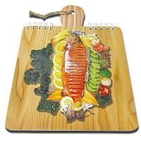 Блокнот для рецептов на жесткой основе CookNotes «Форель»
