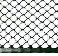 Сетка ограждающая полимерная, 300 г/м2, ячейка Cота 17х17, 1х50м