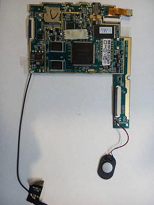 Материнская (системная) плата China HTC-C037-V6 с динамиком, камерой и антеной