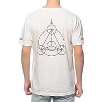 Белая футболка | RipNDip crop circles logo |, фото 1