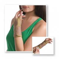 Бандаж на лучезапястный сустав с фиксацией пальца Med textile 8552 люкс