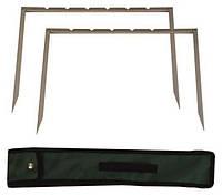 Мангал-рамка 44х36см, на 6 шампуров в комплекте, чехол