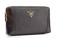 Сумка барсетка Prada 6089 черная