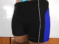 Плавки-шорты мужские Atlantis черный с электрик, фото 1