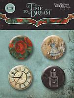 Scrapmir Скрап-фишки Time to Dream 4шт