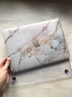 """Дизайнерский мраморный чехол для MacBook Air 13"""""""