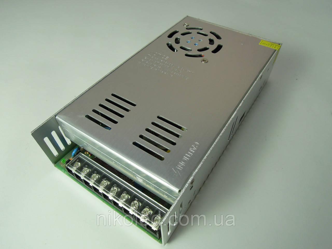 Блок питания негерм 220VAC 12VDC 30A Т