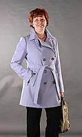 Пальто женское большого размера на весну со скидкой