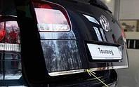 Накладка на кромку багажника Volkswagen Touareg 02-09